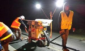 TOKOMAT®/RIEGEL chantier RD 939 Lambus vers Hesdin Tranchée ADSL
