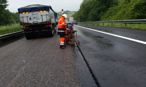Luxembourg Autoroute A1 vers l'Allemagne